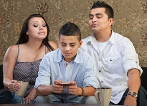 http://www.dreamstime.com/stock-images-parents-watching-teen-sending-messages-nosey-behind-teenage-son-text-image33029094